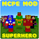Superhero Mod For McPE by bestmodappsmcpe