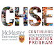 McMaster CHSE (CME) by McMaster - Continuing Health Sciences Education