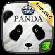 Panda GO Keyboard Animated Theme by GOMO Dev Team