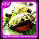 Easy Portobello Mushroom Burgers Recipes by Murlock Apps