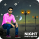 Night Photo Editor 2018 - Night Photo Frames New by Vexill Studios