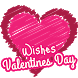Valentines Wishes by Wallpapers4K