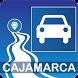 Mapa vial de Cajamarca - Perú by DePeru.com