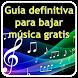 Guia para bajar musica gratis by Guias, Trucos, Quiz, Trivial, Frases, Imagenes