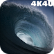 4K Perfect Sea Wave Live Video Wallpaper by 4K4U