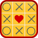 Tic Tac Toe Mulitplayer classic glow 2017 by GO Apps Studio