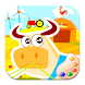 Colors farm animals! pig & cow by Learning Games