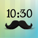 Mustache Watch Face by Vitamin Labs.