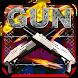 Gun&Bullet Death Weapon Keyboard Theme