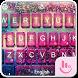 Rainy Afternoon Water Keyboard Theme by Fashion Cute Emoji
