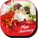 Anniversary Wedding Pic Editor by Dual2cafe