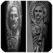 San Judas Tadeo Tattoo by Sfo Apps