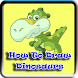 How to draw dinosaurs by NAK Consulting LLC