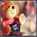 Teddy bear zipper lock screen by uniquedevelper