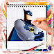 How To Draw Batman Step By Step by kidsaps