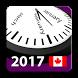 2017-2018 Canada Holiday Calendar by Rhappsody Technologies