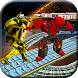 Impossible Tracks Flying Robot Fight: Robot War by Trenzy