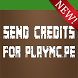 Send Credits For PlayMC.PE by RenualSoftware B.V.