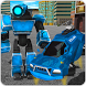 Flying Robot Police Car Driver by Dragon Fire Z