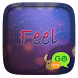 (FREE) GO SMS FEEL THEME by ZT.art