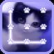 Cute Kitty Lock Screen by LOCK SCREEN