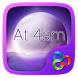 At 4am GO Launcher Theme by ZT.art