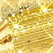 Gold Silk Keyboard Theme by Keyboard Dreamer