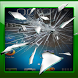 Amazing cracked touch screen by Lie & Prank Application