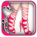 Lace Up Heels Design by Mirror Image