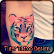 Tiger Tattoo Design by Keith Shearer