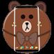 Brown Bear Cartoon Theme by Cool Theme Love