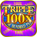 Triple 100x Pay Slot Machine by Bomzy Apps
