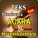 TEKS PEMBAWA ACARA DAN MUKHADIMAH TERBARU KOMPLIT by Amalan Nusantara