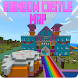 Rainbow Castle map For Mcpe by Videos for Mcpe