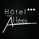 Hotel DES ALLEES by Applipro