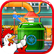 Poultry Chicken Food Factory by FrolicFox Studios