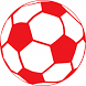 Soccer Red ball by chimgul studios