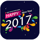 Happy New Year 2017 by techstickerapps
