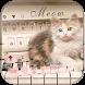 Cute Cat Keyboard Theme Piano Kitty by Creative Beauty Studio