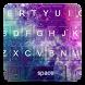 Galaxy Glitter Keyboard Theme by kolingprang