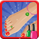 Nail Pedicure Salon -Girl game by Mr Plum