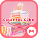 Cute Wallpaper Colorful Cake Theme by +HOME by Ateam