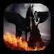 Black pegasus live wallpaper by Fairyfire