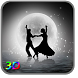 3D Moon Couple Dance LWP