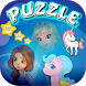 My Pony Princess Puzzle Slide