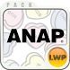 ANAP HeartTablet LWP・Widgetset by NOS Inc.