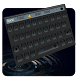 Black Round Keyboard by Echo Keyboard Theme