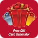 Free Gift Card Generator by My Gift Code