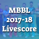 Schedule of Men Big Bash League 2017-18 by Digital Mobo Worlds