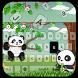 Panda Popular Keyboard by Remote design studio